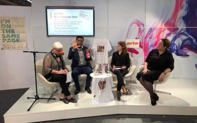 La passata NoCap alla Fiera del libro di Francoforte 2018